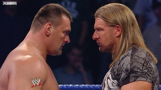 Znalezione obrazy dla zapytania Vladimir Kozlov vs Triple H