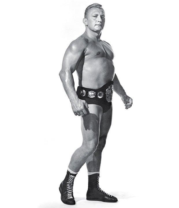 WWE Buddy Rogers Giving Pose